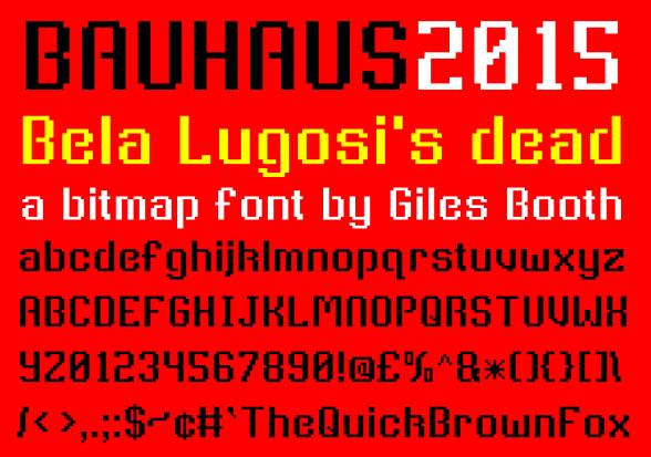 Bauhaus2015 sampler