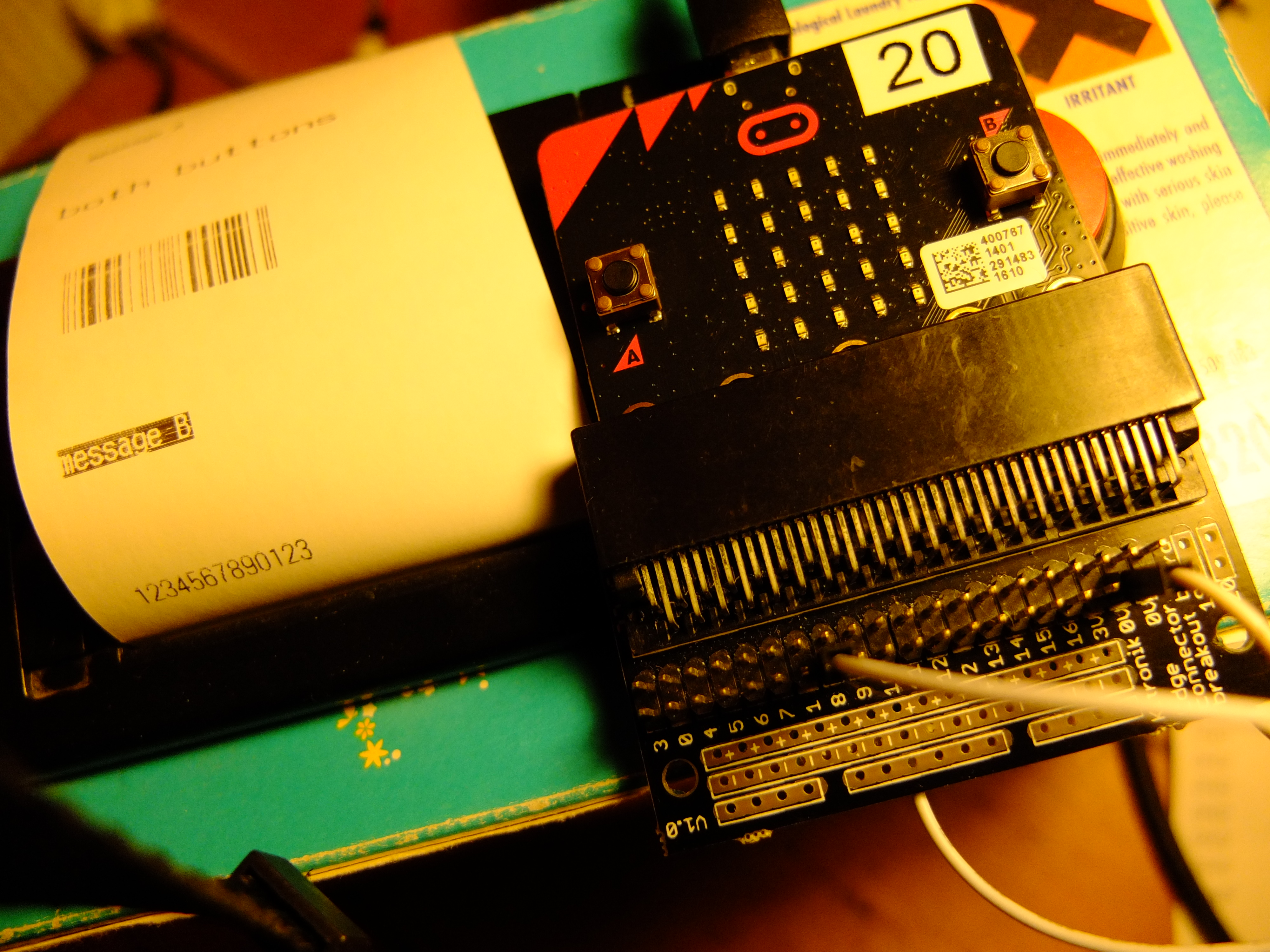 Connecting A Thermal Printer To Bbc Microbit Blog My Wiki Python 1401 Wiring Diagram It