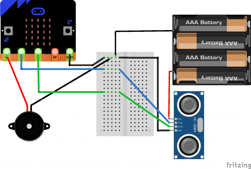 sonar theremin wiring diagram