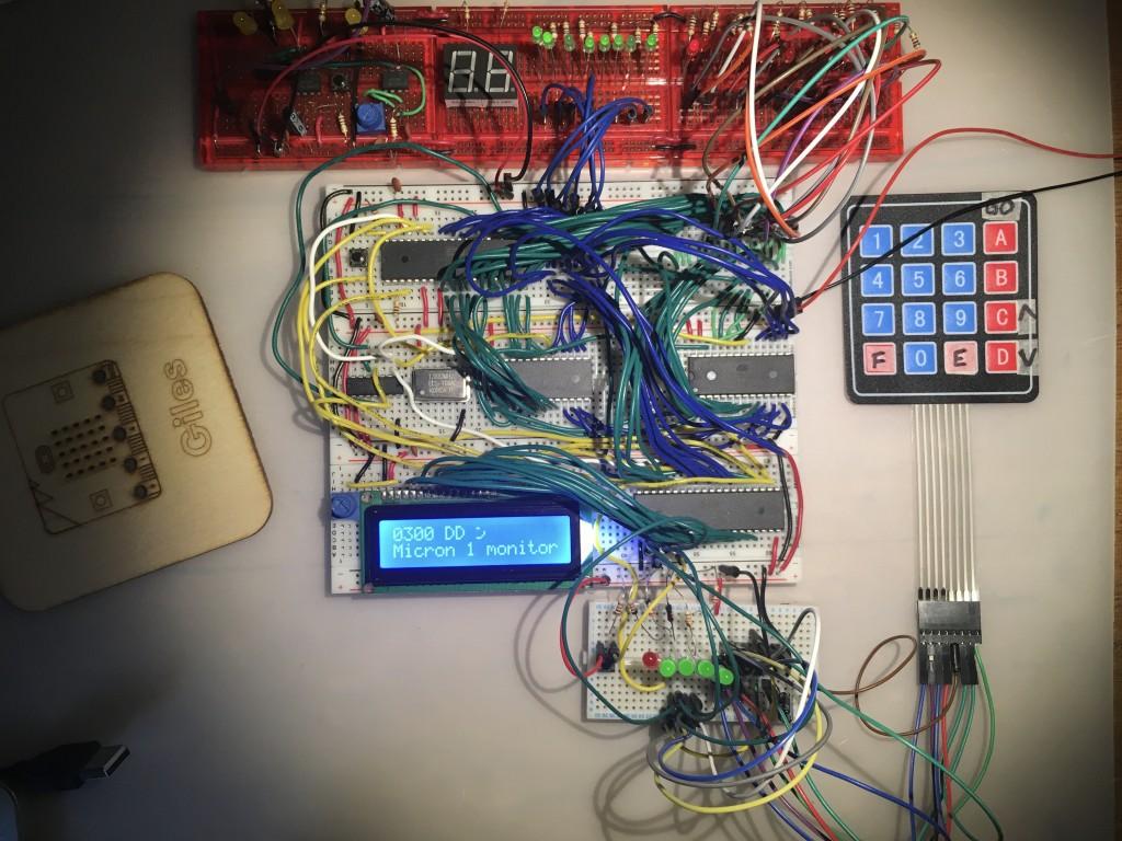 6502 breadboard computer